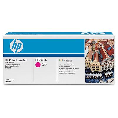 Тонер-картридж HP CE743A цена
