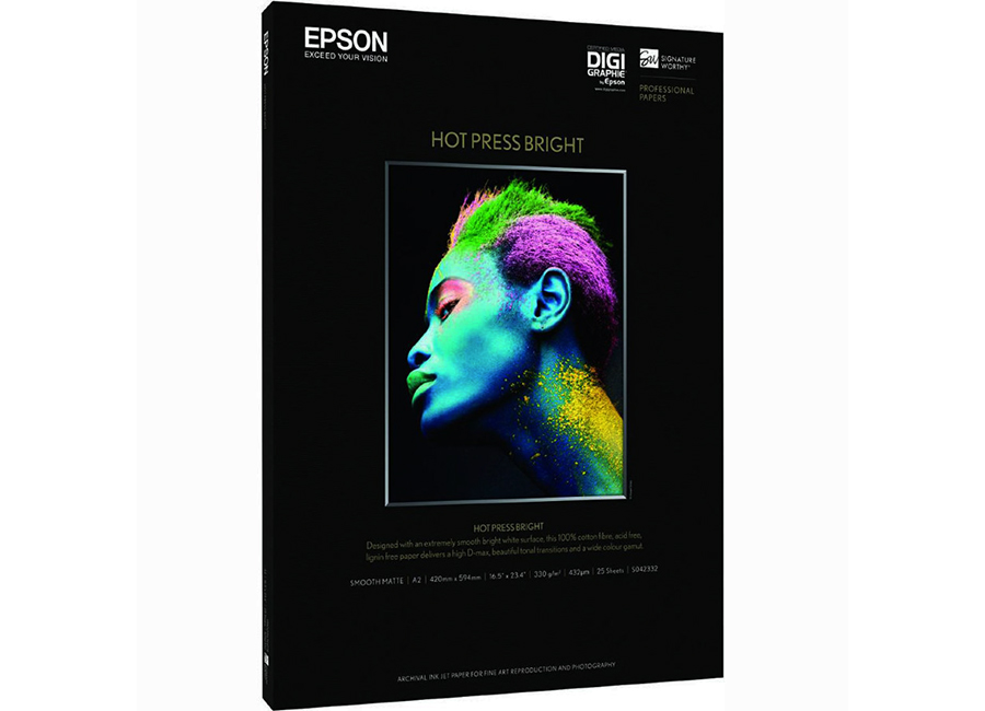 Фото - Epson Fine Art Paper Hot Press Bright A2, 330 г/м2, 25 листов (C13S042332) мелованный картон app c2s art board delight gloss 310 г м2 45x32 см 100 листов