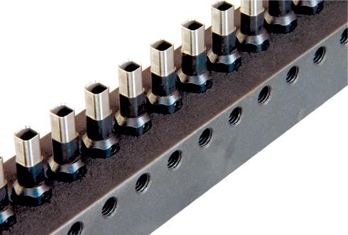 Фото - Пуансон квадратный 4.2х4.2 мм для SPC CBX-100 планка 3 1 для spc cbx 100 квадратные отверстия ригель