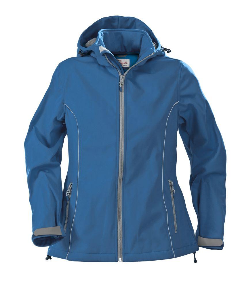 Куртка софтшелл женская HANG GLIDING, синяя, размер L