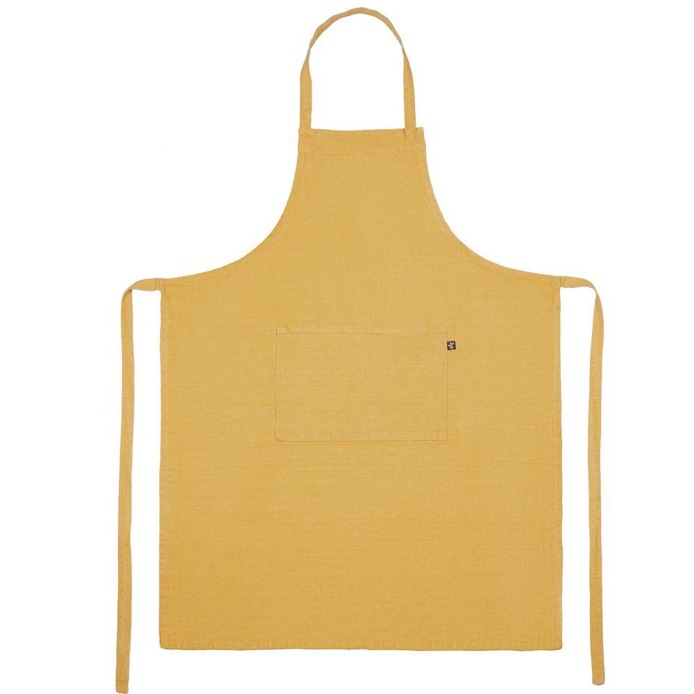 Фартук Fine Line, желтый набор полотенец fine line красный