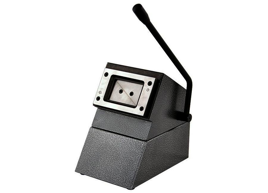 Настольный вырубщик пластиковых карт 85.5x54 мм
