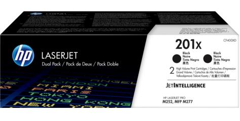 Набор картриджей HP 201X LaserJet (CF400XD)