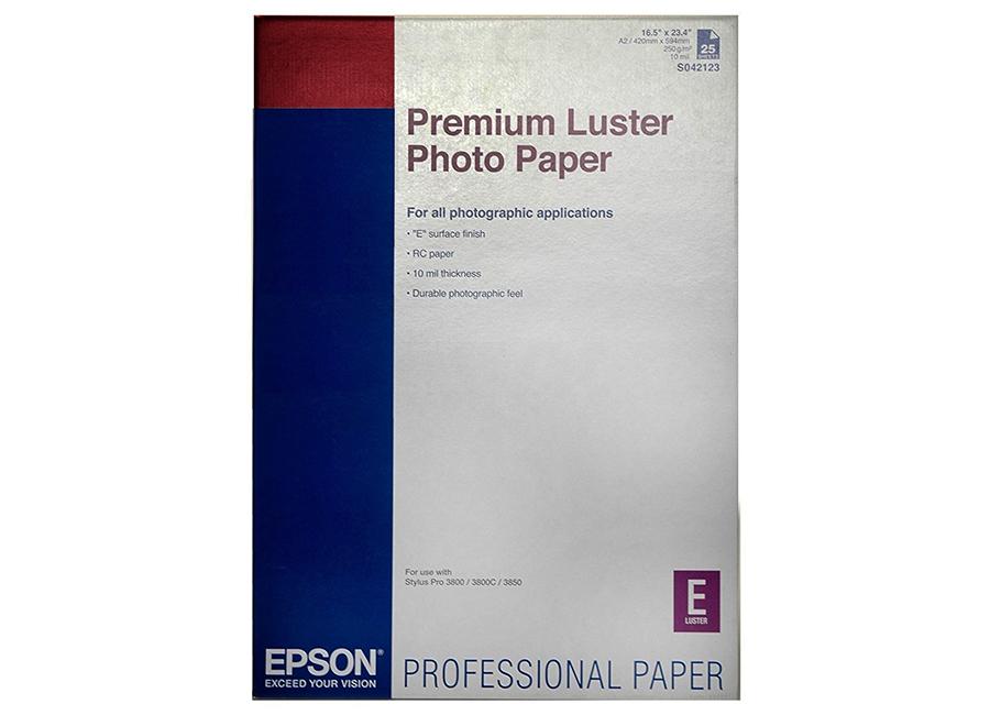 Фото - Premium Luster Photo Paper A2, 235 г/м2, 25 листов (C13S042123) удобрение гумат 7йод 25 г