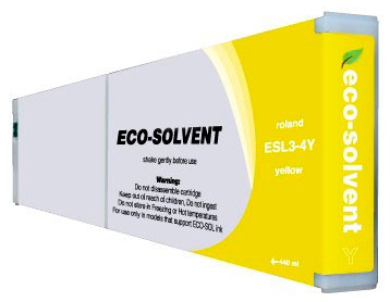 ECO-Solvent Yellow440 мл (ESL3-4YE) eco solvent printer dx5 double capping station system for galaxy with 2 original