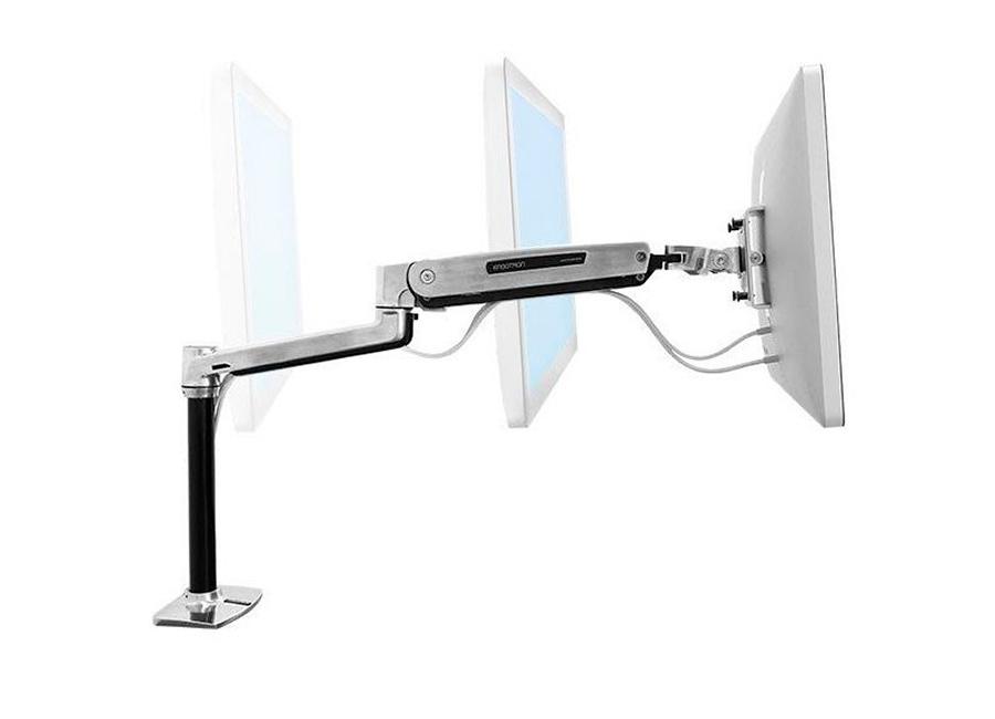 Ergotron LX HD Sit-Stand Рука (45-384-026) для монитора настольное