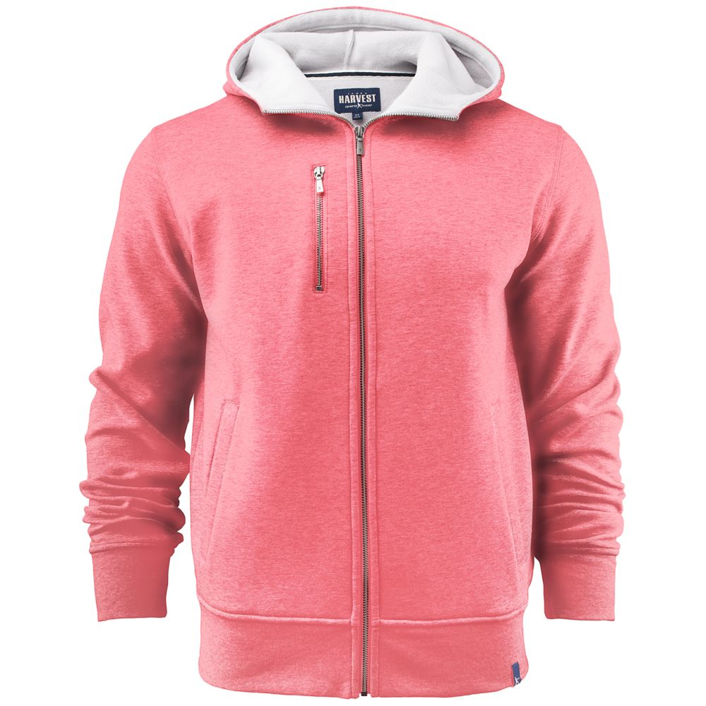 Толстовка мужская PARKWICK красный меланж, размер XL толстовка мужская adidas beckenbauer tt цвет красный dh5830 размер xl 56 58