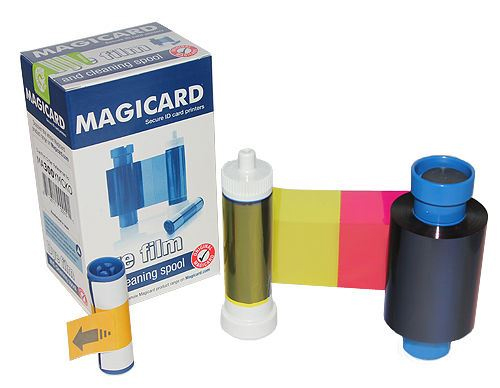 Фото - Полноцветная лента для принтеров, YMCKA MA100 полноцветная лента ymckok 45611