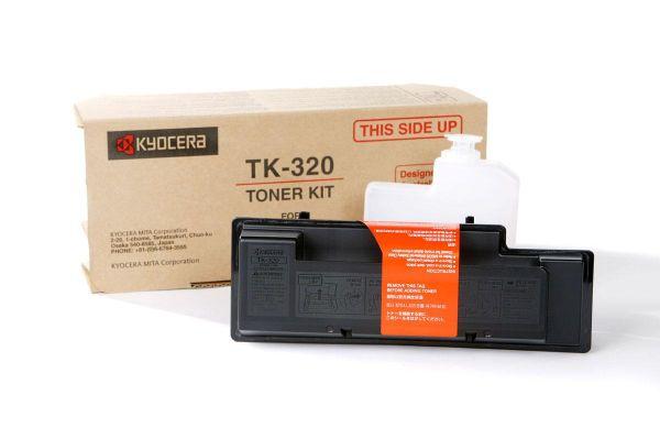 Фото - Тонер-картридж Kyocera TK-320 тонер картридж kyocera tk 665