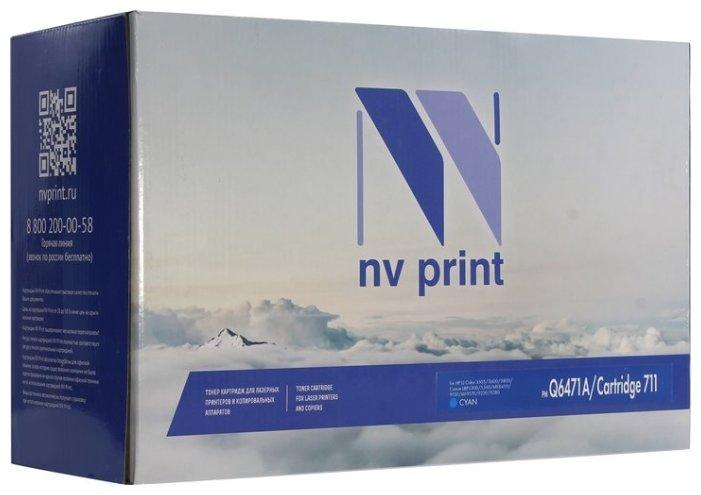 Картридж NV Print Q6471A/711 картридж sakura q6471a 711c