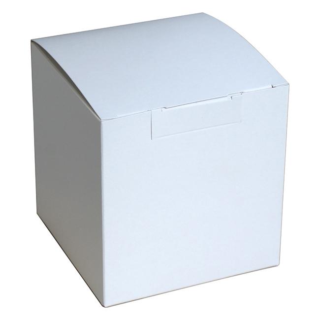 Коробки для кружек Белые, не собранные, 100 шт.