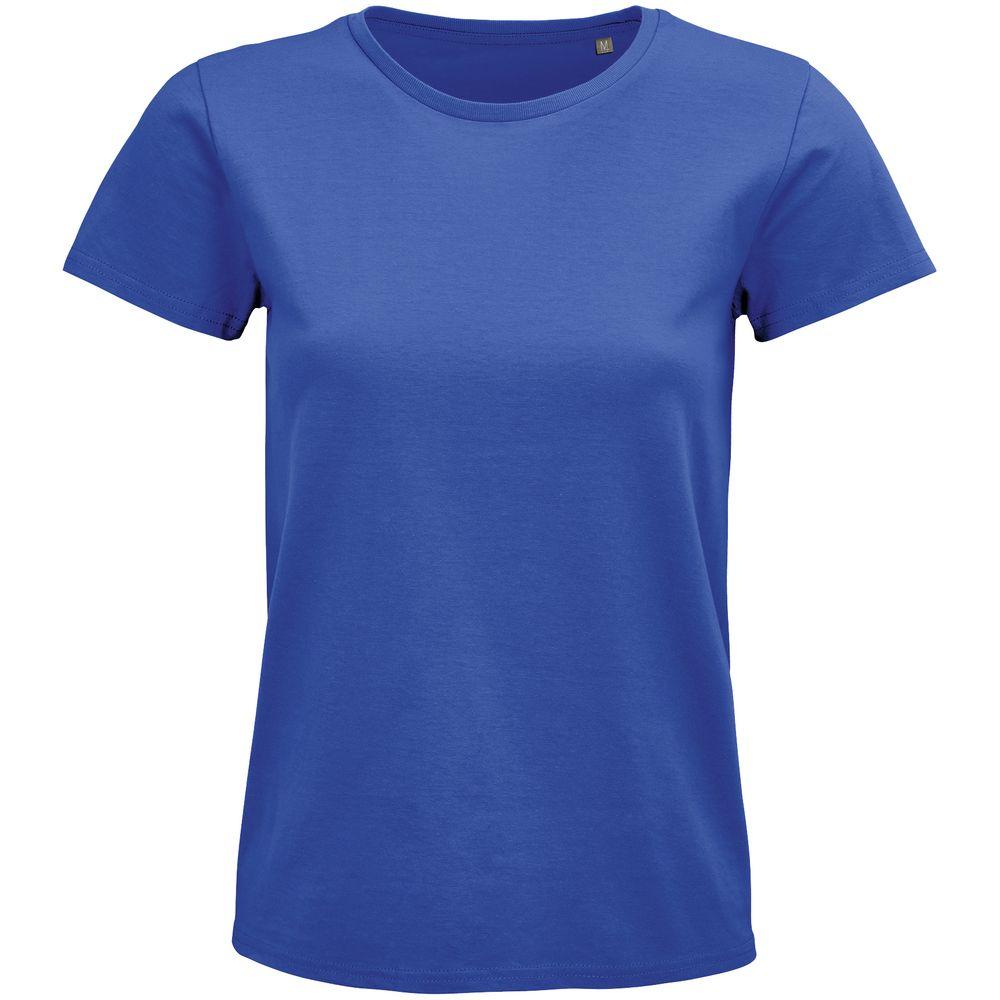 Фото - Футболка женская Pioneer Women, ярко-синяя, размер L футболка женская pioneer women хаки размер l