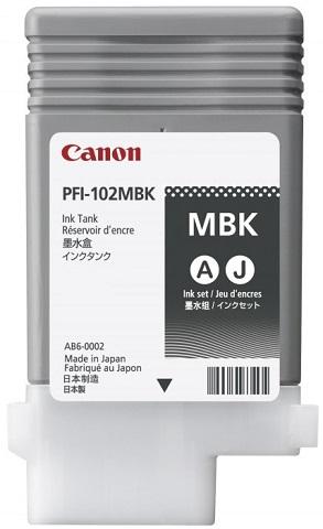 Фото - Картридж Canon Black PFI-102MBK (матовый черный) 90 мл тумба под раковину bellezza версаль 90 черный