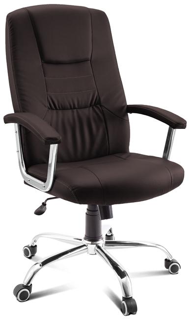 Фото - Кресло руководителя Престиж, коричневое кресло руководителя гелеос монарх песочное