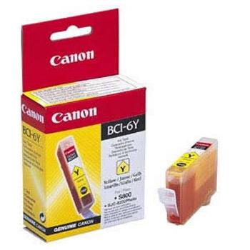 Картридж CAN BCI-6Y картридж canon bci 6 yellow 4708a002
