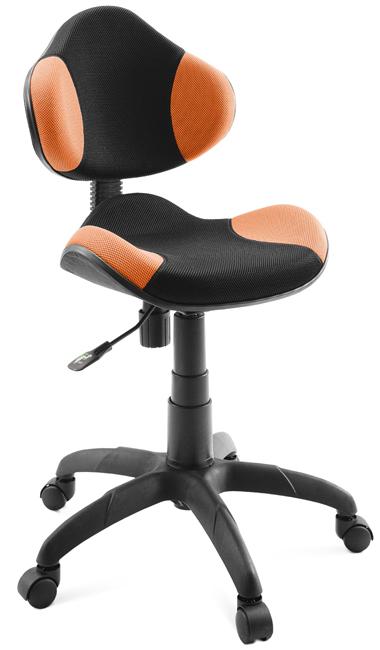 Кресло детское Джой, оранжевое