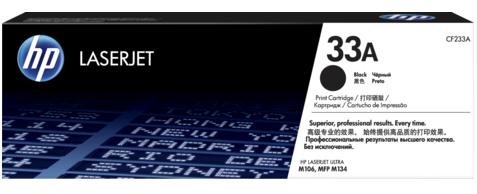 Тонер-картридж HP 33A LaserJet (CF233A) картридж для лазерного принтера hp 33a cf233a