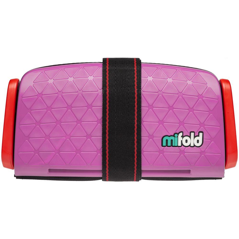 Автокресло-бустер Mifold, розовое бустер mifold the grab and go slate grey