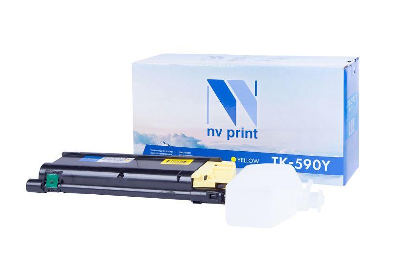 Картридж NV Print TK-590Y фото