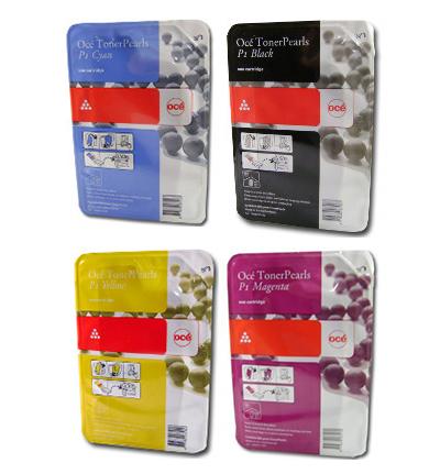 Набор картриджей ColorWave 600 Cyan/Yellow/Magenta/Black 4x500 гр (7503B007) комплект картриджей colorwave 650 yellow 4x500 гр 6874b001