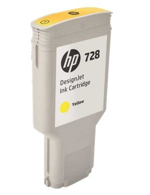 HP DesignJet 728 Yellow 300 мл (F9K15A) картридж hp 728 f9j68a matte black 300 мл