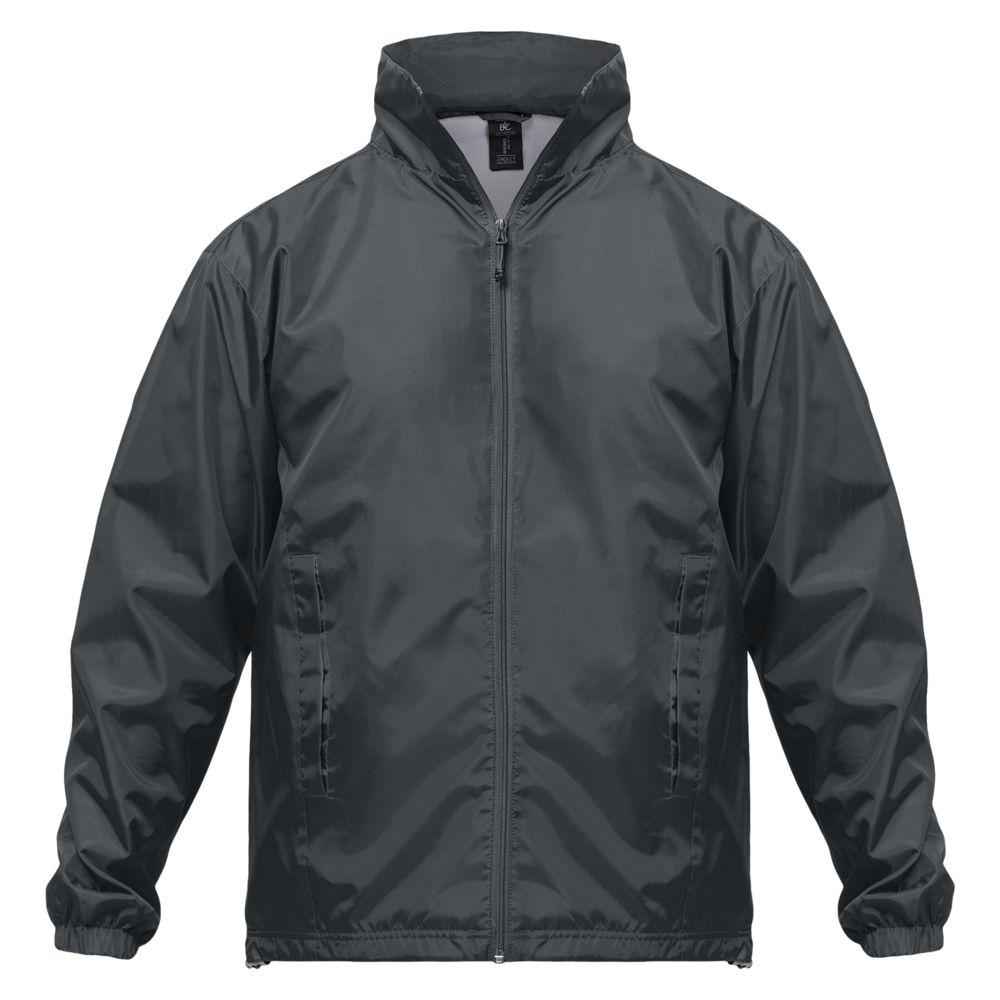 Ветровка ID.601 темно-серая, размер L рюкзак training id темно синий