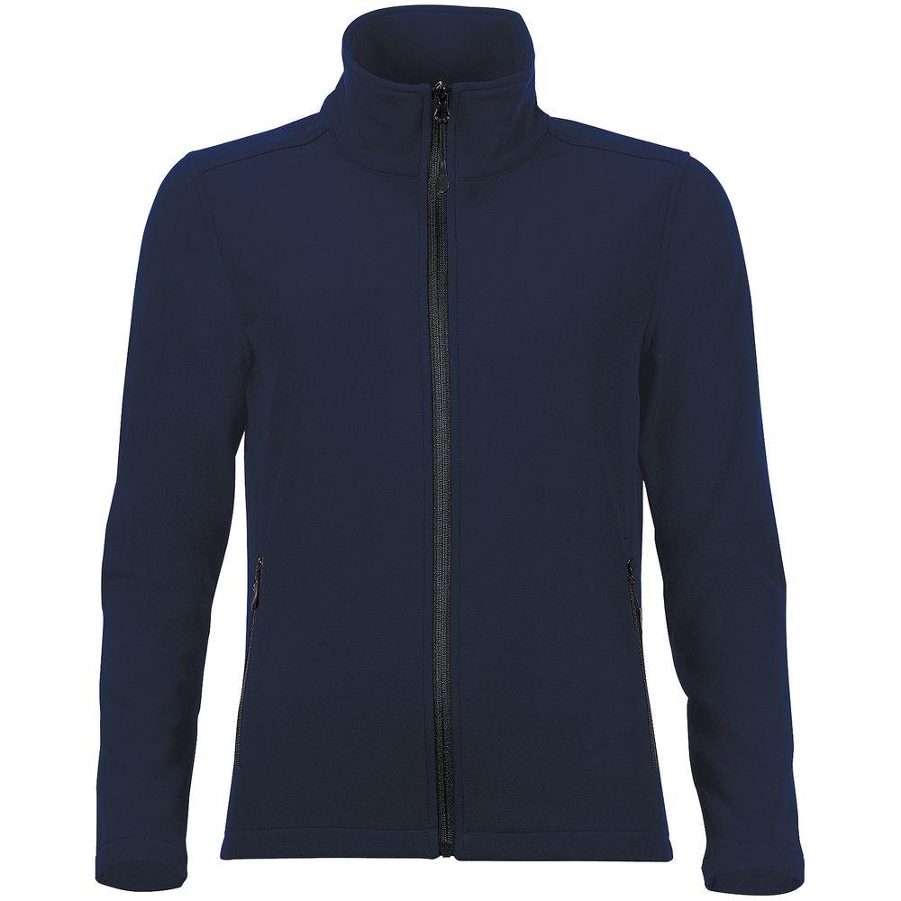 Куртка софтшелл женская RACE WOMEN темно-синяя, размер S