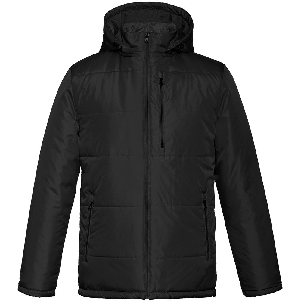 Фото - Куртка Unit Tulun, черная, размер M куртка unit tulun темно зеленая размер xxl