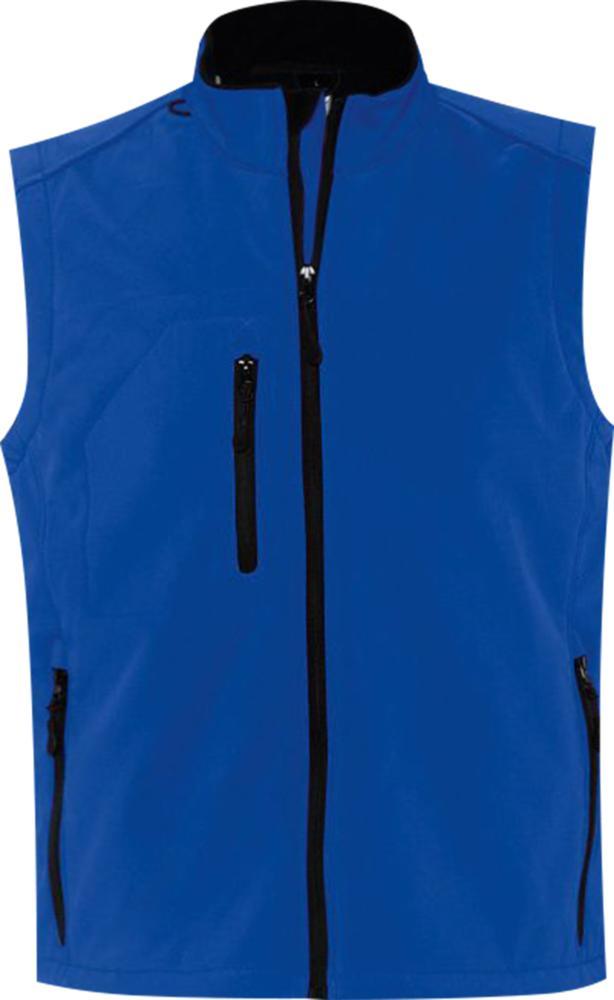 Жилет мужской софтшелл RALLYE MEN ярко-синий, размер 3XL