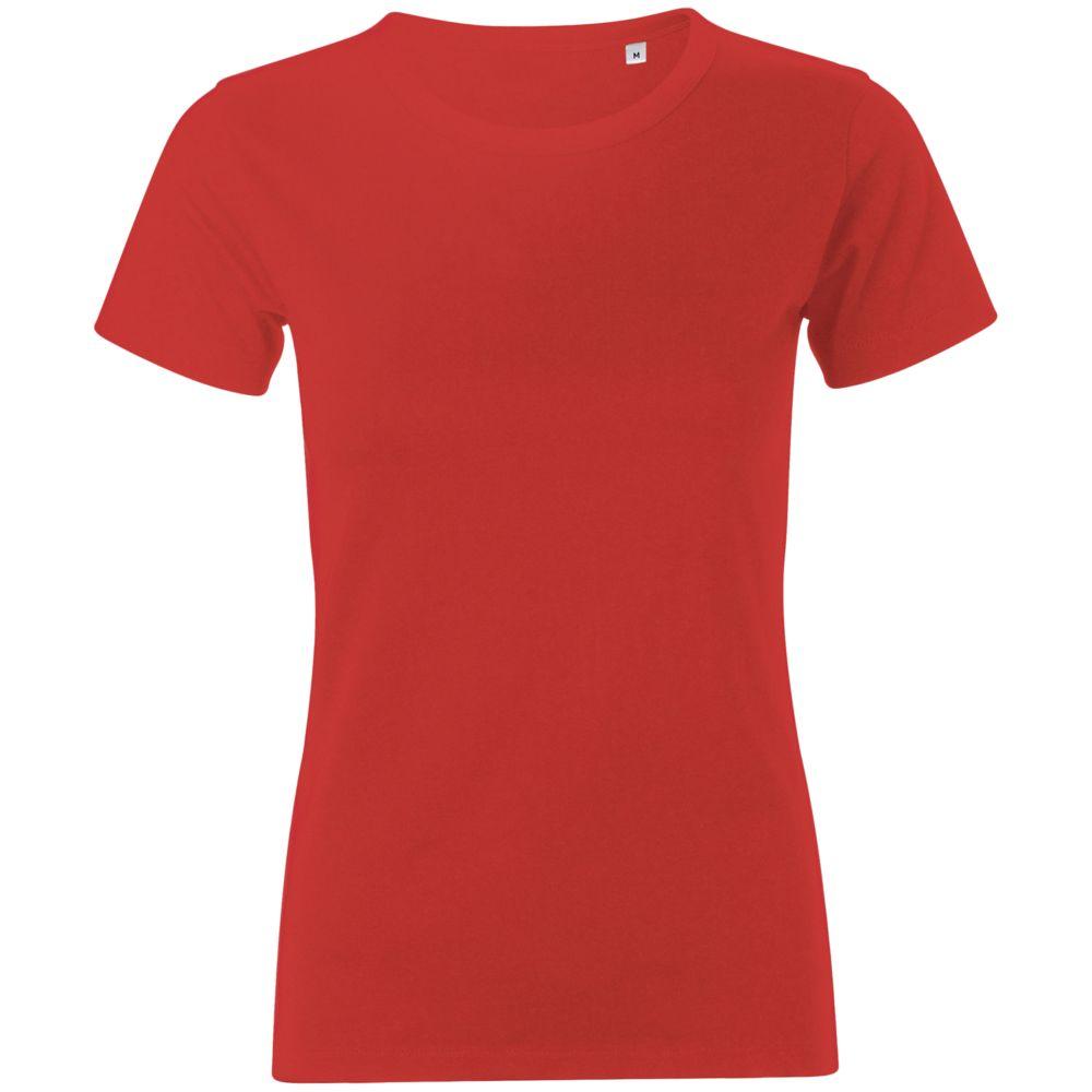 Футболка женская MURPHY WOMEN красная, размер L футболка женская oodji ultra цвет ментол 14707001 36 46154 6519p размер l 48