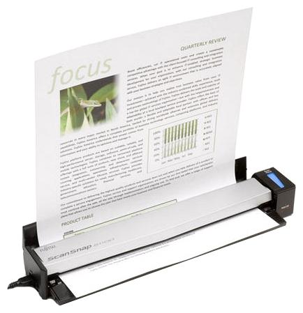 Fujitsu ScanSnap S1100 сканер fujitsu scansnap ix100