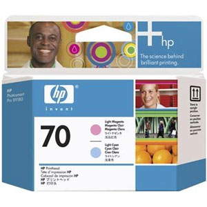 Печатающая головка HP Print Head №70 Light Magenta & Cyan (Z2100/Z3100) (C9405A)