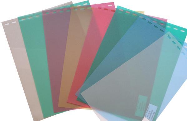 Обложки пластиковые, Матовые (ПП), A4, 0.40 мм, Дымчатый, 50 шт