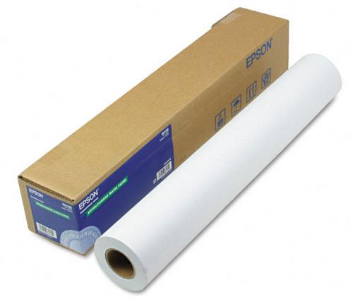 Фото - Epson Singleweight Matte Paper 17, 120 г/м2, 0.432x40 м, 50.8 мм (C13S041746) epson presentation paper hires 36 120 г м2 0 914x30 м 50 8 мм c13s045288