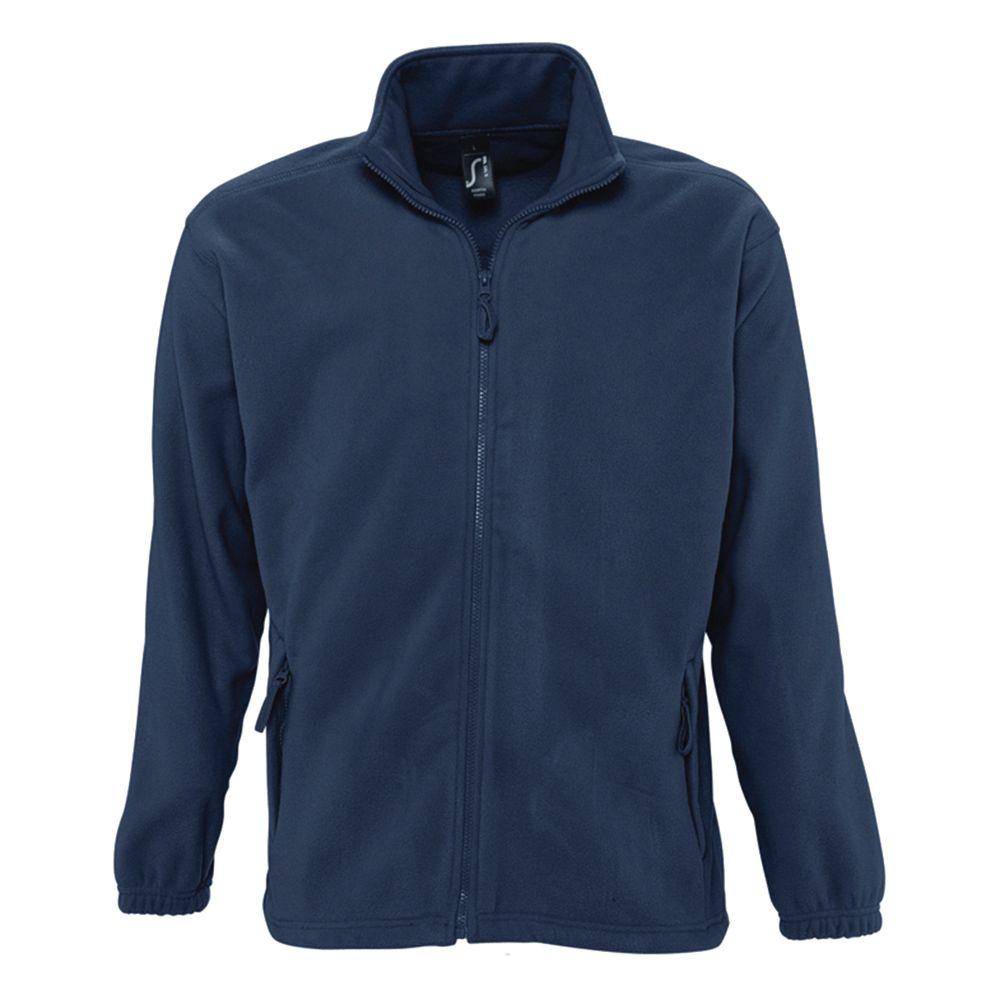 Куртка мужская North, темно-синяя, размер S куртка мужская calvin klein jeans цвет темно синий j30j300668 размер s 44 46