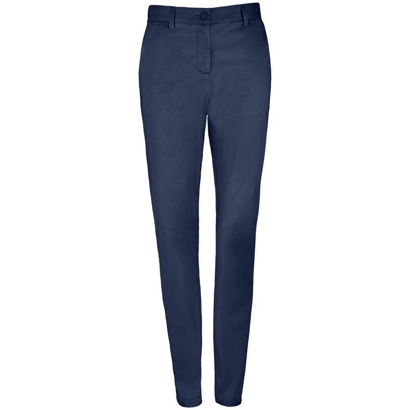 Брюки JARED WOMEN темно-синие, размер 40 luce della vita джинсы темно синие