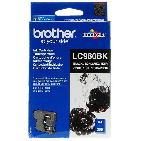 Фото - Картридж Brother LC980BK картридж brother lc980c
