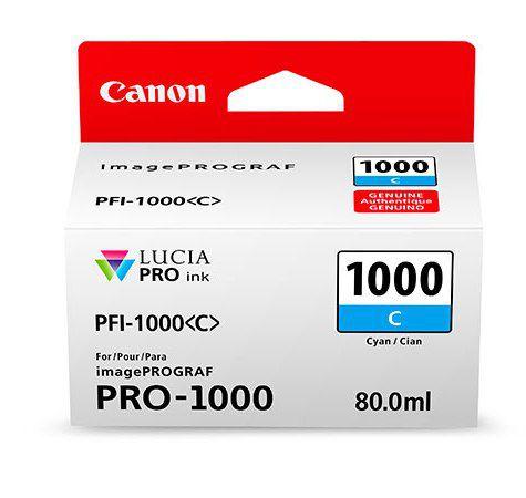 PFI-1000C Cyan 80 мл (0547C001) pfi 1000c cyan 80 мл 0547c001