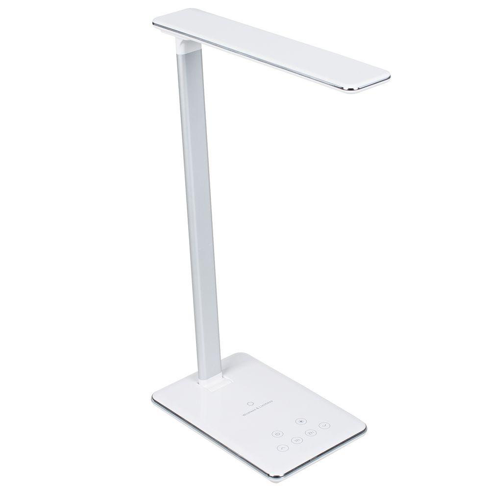 Фото - Настольная лампа с беспроводной зарядкой Power Spot, белая настольная лампа декоративная globo chipsy 15221t1
