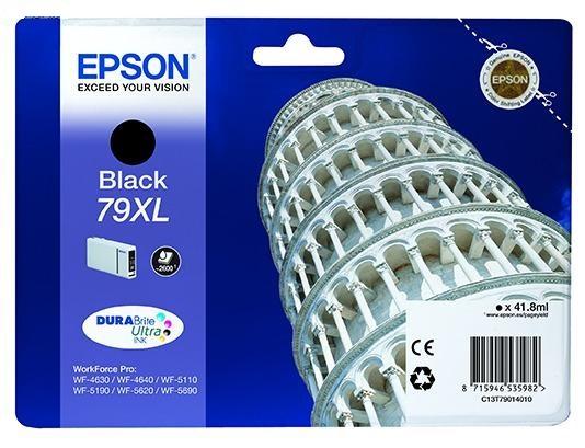 Фото - Картридж повышенной емкости с черными чернилами Epson T7901 для WF-5110DW/WF-5620DWF (C13T79014010) картридж с черными фото чернилами epson t0541 c13t05414010