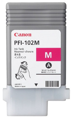 Canon PFI-102M Magenta 90 мл (0897B002)