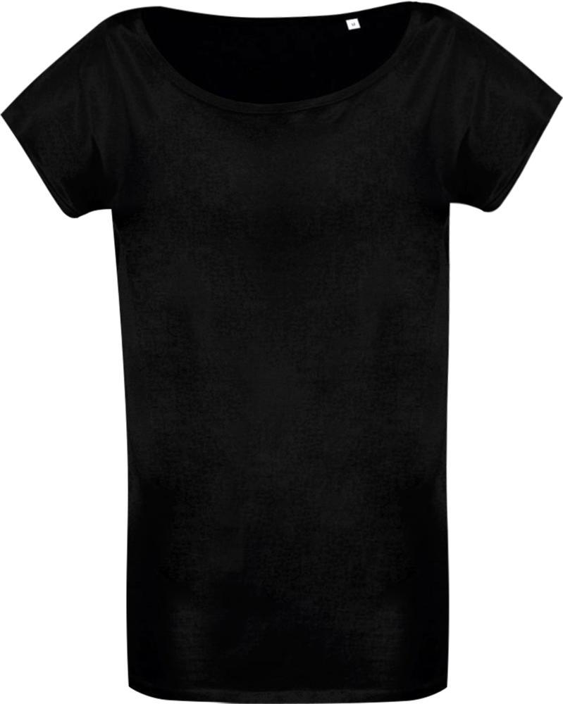 Футболка женская MARYLIN 110 черная, размер S