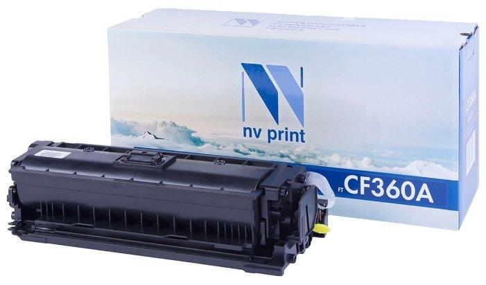 Фото - Картридж NV Print NV-CF360A пульт ду gwire 95001 eltex для iptv медиацентров eltex nv 100 nv 102 nv 300 nv 310 wac nv 501 wac черный