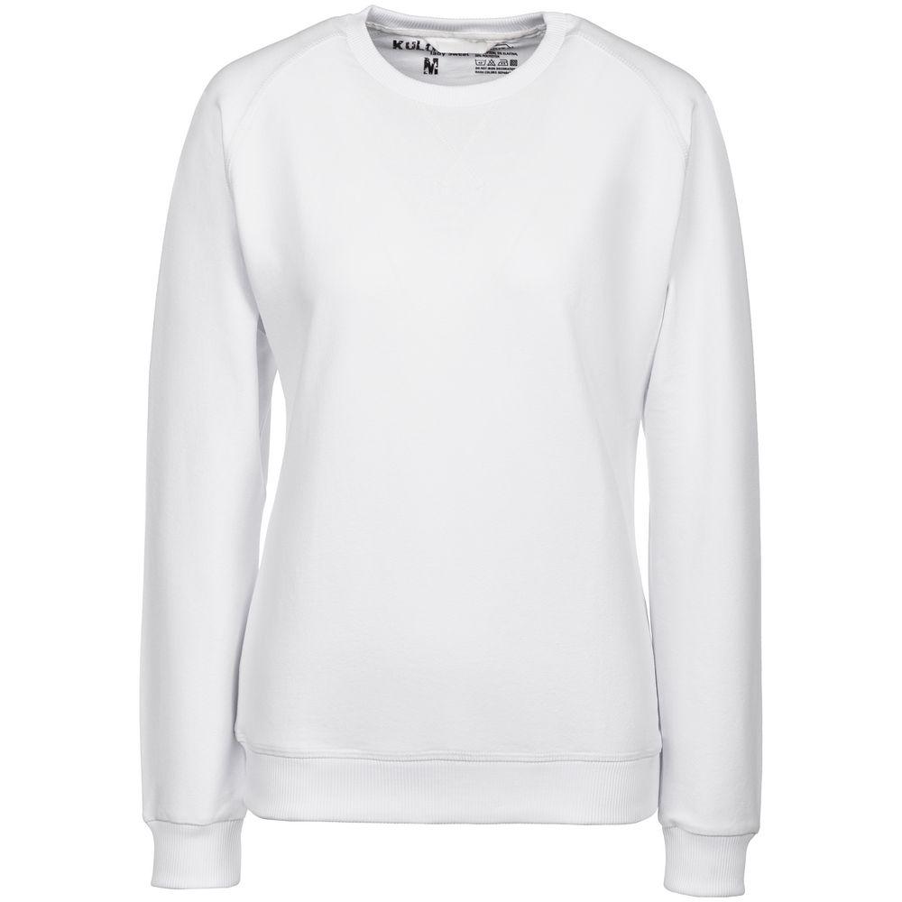 Свитшот женский Kulonga Sweat белый, размер S