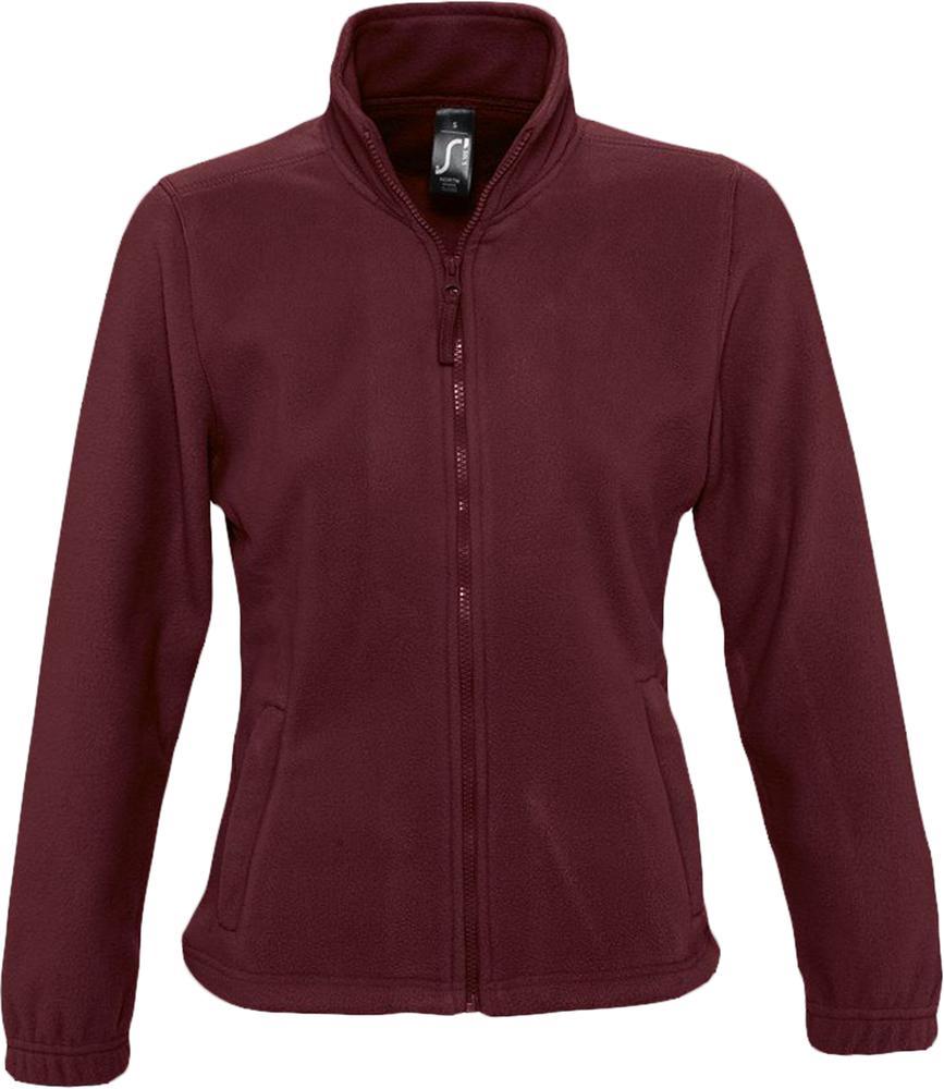 Куртка женская North Women бордовая, размер M