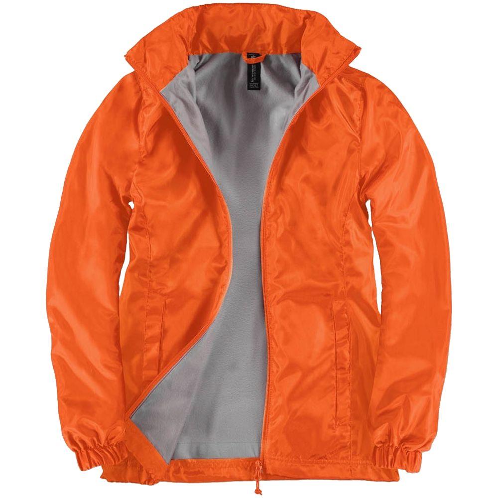 Ветровка женская ID.601 оранжевая, размер XXL фото