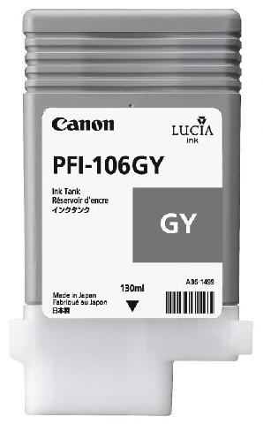 Фото - Canon PFI-106GY Gray 130 мл (6630B001) canon pfi 103gy gray 130 мл 2213b001