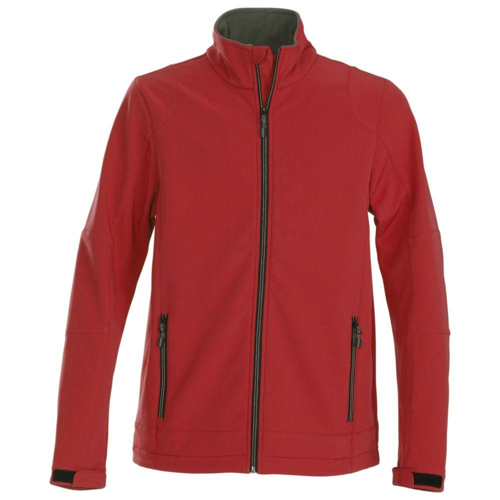 Куртка софтшелл мужская TRIAL красная, размер XL