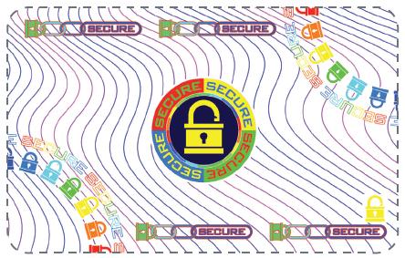 Фото - Лента ламинационная с вырезом под чип DuraGard, OptiSelect Secure Lock Registered 1.0 mil Datacard 508982-302 lock