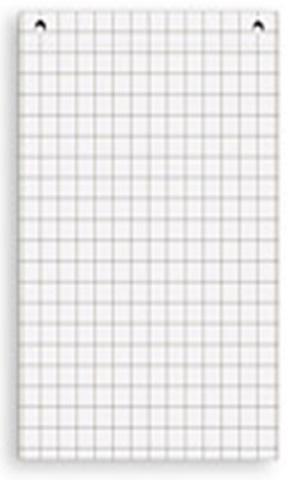 Фото - Комплект блоков бумаги для флипчартов GBG (универсальный, клетка) 67.5x96.5 см держатель для туалетной бумаги tatkraft дельфины